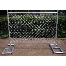 USA chain link temp fence