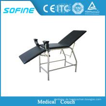 SF-DJ116 Gynäkologie-Untersuchungs-Bett, Untersuchungs-Couch für Krankenhaus