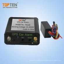 GPS Car Tracker T220 con arrancador de motor remoto, monitor de combustible (TK220-ER19)