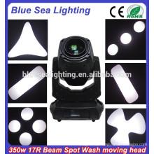 17r Strahlfleckwäsche 3in1 350w bewegliches Hauptlicht