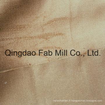 16 Wales Organic Cotton / Spandex Velours en velours côtelé (QF16-2677)