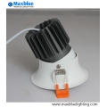 Triac 0-10V Dali Dimmable Empotrable LED COB Downlight
