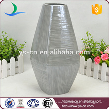 Stripe Decorative Ceramic Pottery China Porcelain Vase