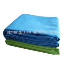 microfiber towel 80% polyester, 20% polyamide solid color sport towel