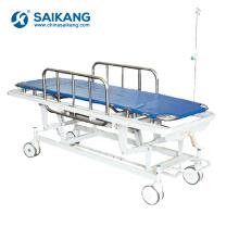SKB038-1 Chariot de patients en métal de secours d'hôpital