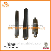 Suprimento de fábrica LT Series API Torsion Rod For Drilling Rig Parts Em estoque