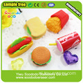 Westelijk Voedsel Shaped Wacky Eraser, briefpapier Wholesale