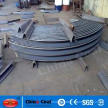 U-shaped mining steel support