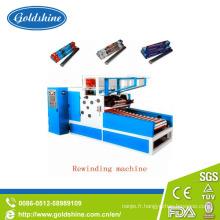 Papier d'aluminium automatique Roll rebobinage Machine (GS-AF-600)
