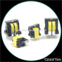 Transformateur de UU de montage de carte PCB de noyau de ferrite de perméabilité élevée de MnZn
