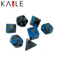 Custom Polyhedral Bulk Gradually Changing Color Dices