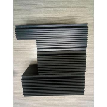 Caja de aluminio extruida del disipador de calor para la carcasa del inventario