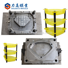 Buen molde plástico del estante del molde del servicio bueno para la fábrica de China
