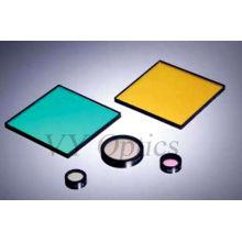 Filtro de interferencia de vidrio óptico para experimentos científicos
