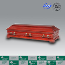 Best-seller Europeu estilo Funeral de madeira barato Coffin_China caixão fabrica