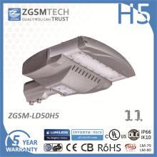 50W Modul LED Straßenlaterne mit Philips Chip 3030