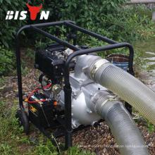BISON Chine Taizhou Pompe à eau à générateur diesel à irrigation à volume élevé de 6 pouces