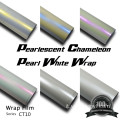 White Chameleon Vinyl Car Wrap Vinyl Film