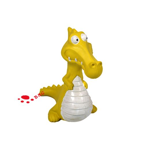 dinosour shape pet toy