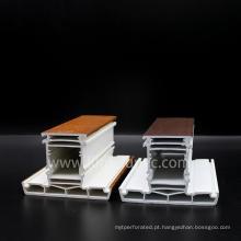Perfis laminados de Upvc de 70mm
