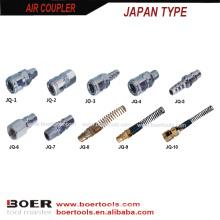 acoplador do ar das ferramentas de ar da arma de pulverizador quich acoplador JQ seriese