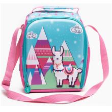 Lama Design Lunch bag 3D kids cooler bag with straps 3D Loncheras Lonch