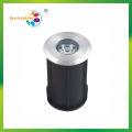 Luz subterránea redonda de alta calidad IP68 de 1W IP68