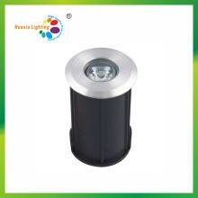 1w IP68 hohe Qualität IP68 Runde LED unterirdischen Licht