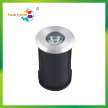 IP68 High Power 1W LED LED luz de pavimentación subterránea