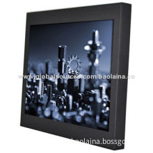Interactive Touchscreen LCD Monitor 15-inch Metal case with VGA/USB