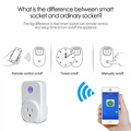 LED-luces mejor Smart WiFi enchufe de enchufe de pared