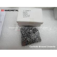 Inserts à brasure au carbure de tungstène à haute qualité