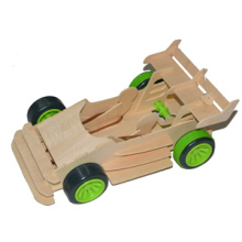 Wooden Construction Set Racing Car