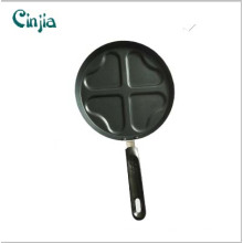 Carbon Steel Heart Shape 4 Eggs Frying Pan
