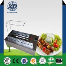 Máquina de churrasco Máquina de fabricação de carvão churrasqueira Charcoal Gas Rotary Grill
