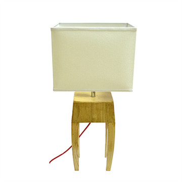 Wooden Decorative Table Lamp (KAM-GY-B)