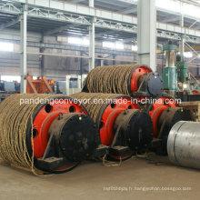 Poulie de convoyeur de tuyau / tambour de convoyeur de tuyau / poulie en caoutchouc