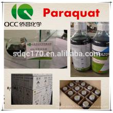 Vente chaude herbicide Paraquat 42% TC 200g / L 20% SL CAS 1910-42-5