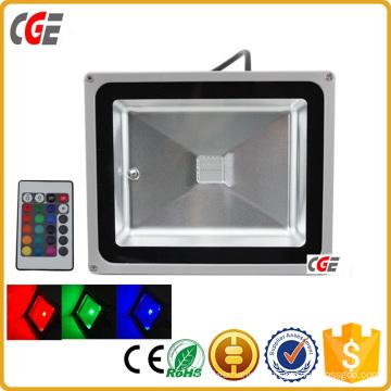 110 Volt 30 Watt LED Flood Light RGB Outdoor LED Flood Light