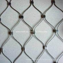 Edelstahl-Drahtgewebtes Seil