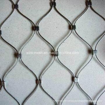 Cuerda tejida de alambre de acero inoxidable