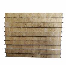 Panel sándwich de acero de color lana de roca