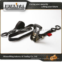 Customized cargo lashing strap belt