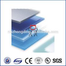 toit ouvrant en polycarbonate imperméable à l'eau