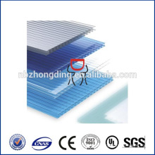 clear plastic polycarbonate sheeting/polycarbonate panel/polycarbonate board