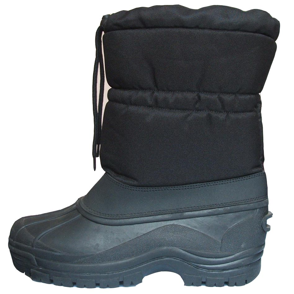 Adults' TPR-Outsole Winter Boots