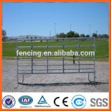 Valla galvanizada de alta resistencia galvanizada del acoplamiento del ganado / panel de la cerca de la granja del ganado del metal (fabricante)