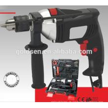 119 PCS Zubehör 13mm 710w Power Handheld Combo Tool Kit Tragbare elektrische Schlagbohrer Set