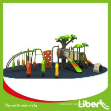 2015 Large Luxury Adventure Amusement Park Climbing Structure and Slide