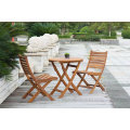 Outdoor Garden Patio Dining Table Restaurant Chair Furniture Set Fsc Teak Wood #304 Stainless Steel